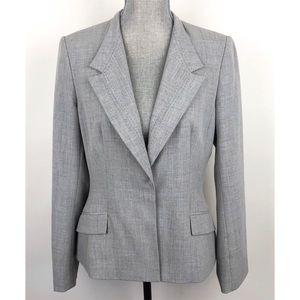Calvin Klein   Blazer Gray Career Suit Jacket